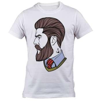 تی شرت استین کوتاه گروه رویال  طرح ارایشگر مدل B 2141