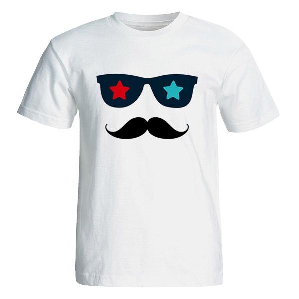 Photo of تی شرت آستین کوتاه مردانه طرح سیبیل کد 4660