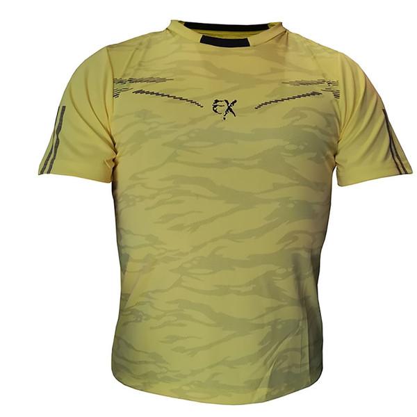 تیشرت ورزشی مردانه ساکریکس مدل BTSH551.YEL