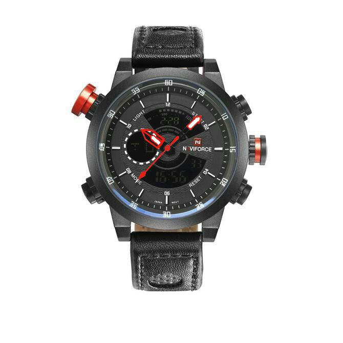 کد تخفیف                                      ساعت مچی عقربه ای مردانه نیوی فورس مدل NF9081-BBR