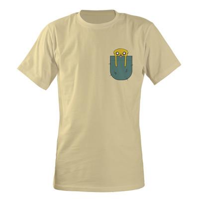 تصویر تی شرت مردانه مسترمانی مدل جیب کد 03