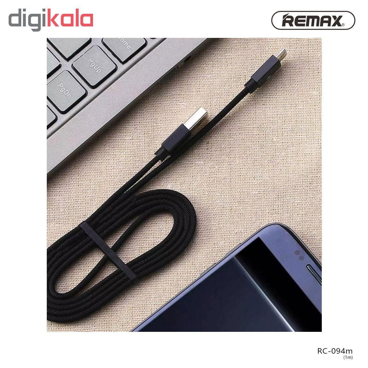 کابل تبدیل USB به microUSB ریمکس مدل Kerolla RC-094m طول 1 متر main 1 7