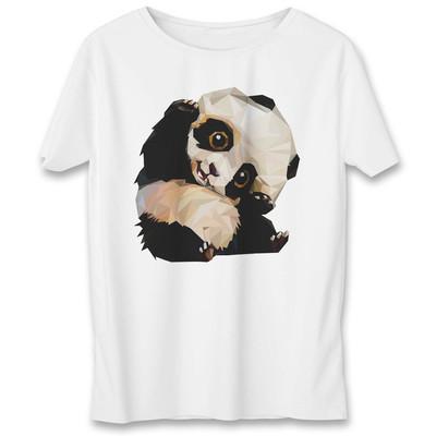 Photo of تی شرت زنانه به رسم طرح پاندا کد 433