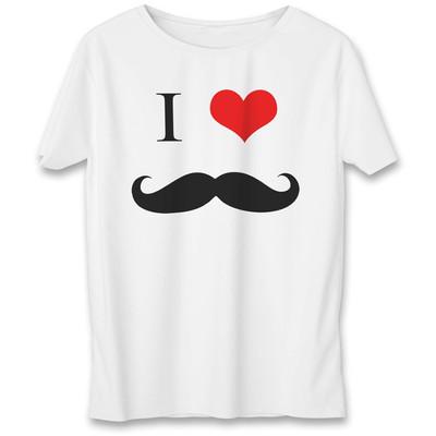 تی شرت به رسم طرح عشق سیبیل کد 555
