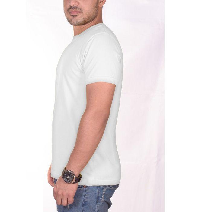 تی شرت مردانه سیمپل  مدل sw3-White main 1 3