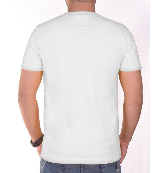 تی شرت مردانه سیمپل  مدل sw3-White main 1 4