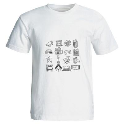 تصویر تی شرت مردانه نگار ایرانی طرح L 31