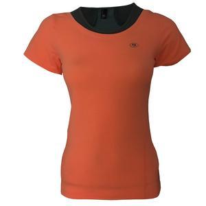 تی شرت ورزشی دخترانه ساکریکس مدل GTSH556-ORG