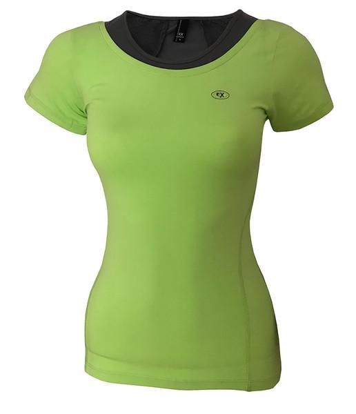 تی شرت ورزشی دخترانه ساکریکس  مدل GTSH556-GRN
