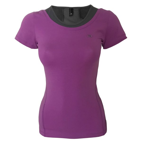 تی شرت ورزشی دخترانه ساکریکس  مدل GTSH556-PUR