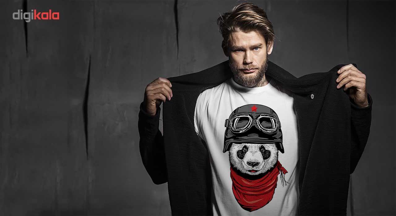 تی شرت انارچاپ طرح پاندا مدل T01008 main 1 1