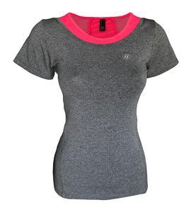تی شرت ورزشی دخترانه ساکریکس مدل GTSH555-PINK