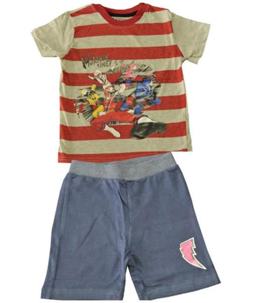 ست لباس کودک مدل پاور رنجر