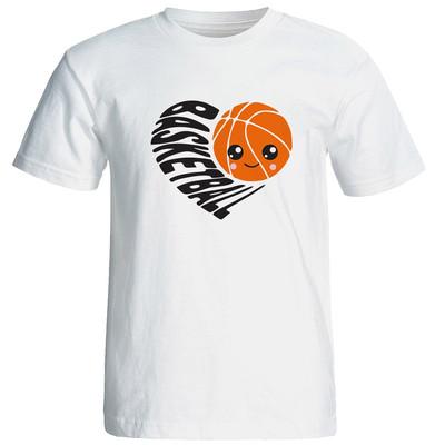 تیشرت آستین کوتاه زنانه نیکو طرح بسکتبال کد6747