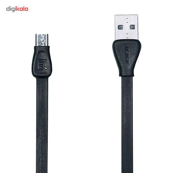 کابل تبدیل USB به microUSB ریمکس مدل Martin طول 1 متر