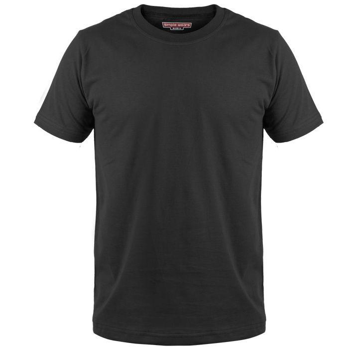 تی شرت مردانه سیمپل مدل sw3-Black main 1 1