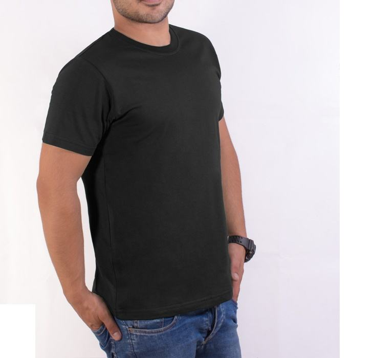 تی شرت مردانه سیمپل مدل sw3-Black main 1 3