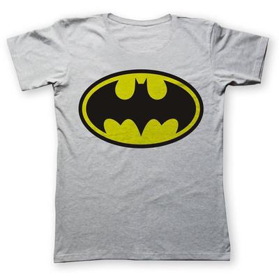 تی شرت زنانه به رسم طرح بتمن کد 418