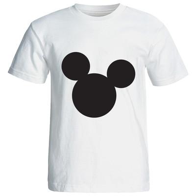 تصویر تی شرت آستین کوتاه گورانا طرح میکی موس سفید 12213 Mickey mouse