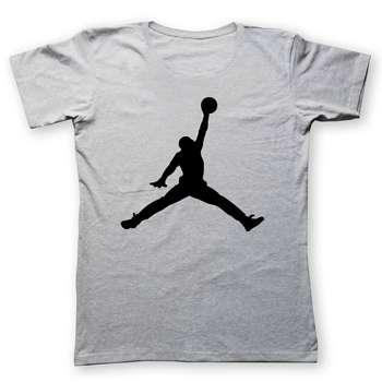تی شرت زنانه به رسم طرح مایکل جردن کد 429