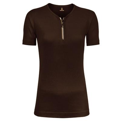 Photo of تی شرت زنانه زیپ دار ساروک مدل U کد 012