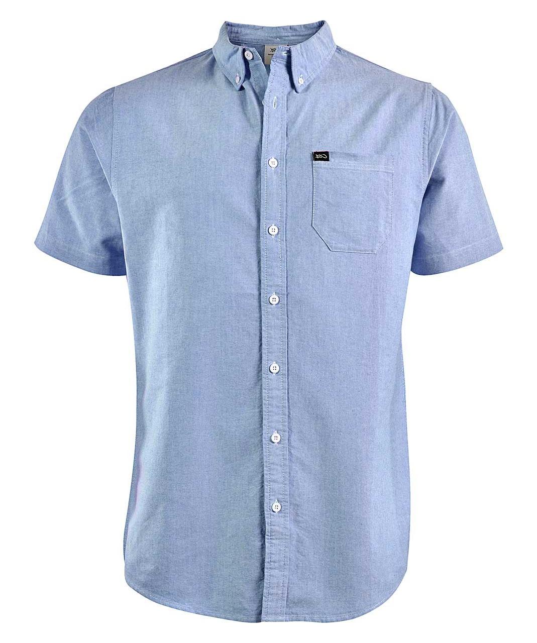 پیراهن مردانه کی وان ایکس مدل Oxford Short Sleeve