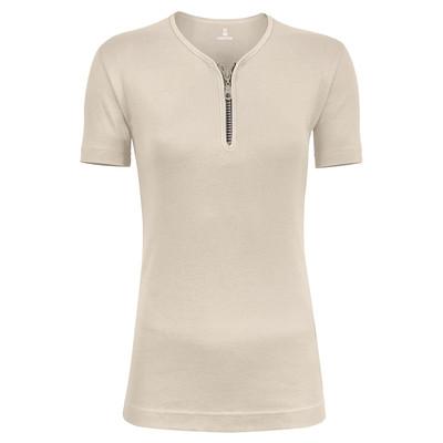 تی شرت زنانه زیپ دار ساروک مدل U کد 07