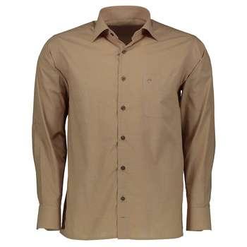 پیراهن آستین بلند مردانه اطمینان مدل کلاسیک