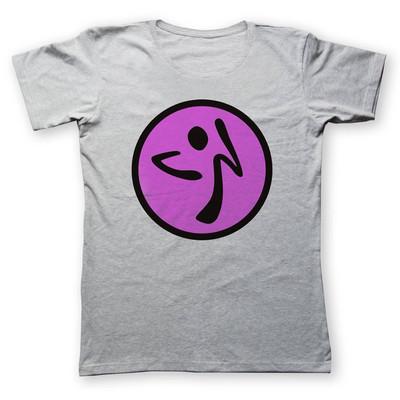تی شرت زنانه به رسم طرح زومبا کد 450