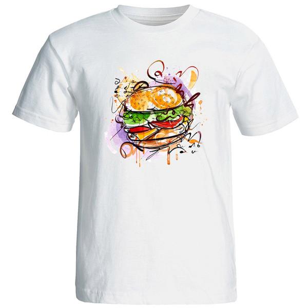 تی شرت آستین کوتاه زنانه الی شاپ طرح 12527