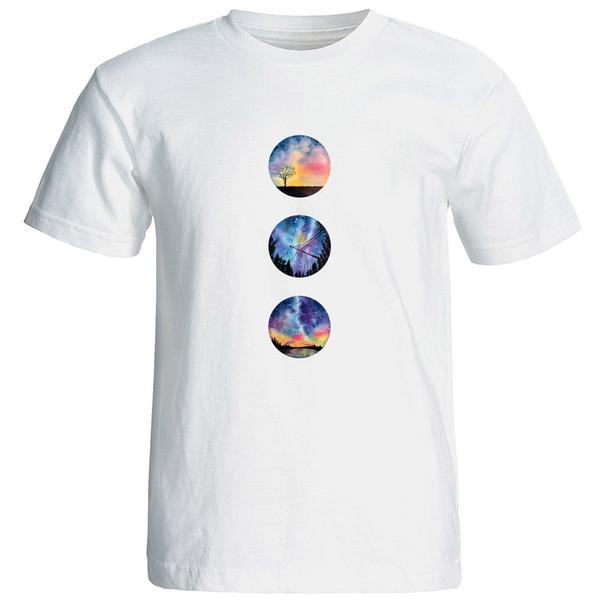 تی شرت آستین کوتاه زنانه الی شاپ طرح 12539