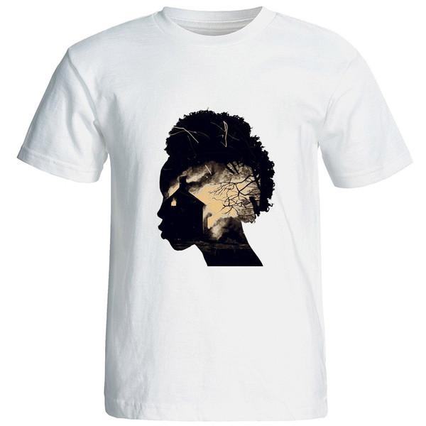 تی شرت استین کوتاه زنانه الی شاپ طرح 12551