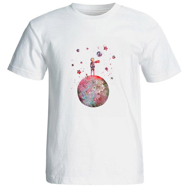 تی شرت استین کوتاه زنانه الی شاپ طرح 12569
