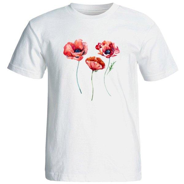 تی شرت استین کوتاه زنانه الی شاپ طرح 12570
