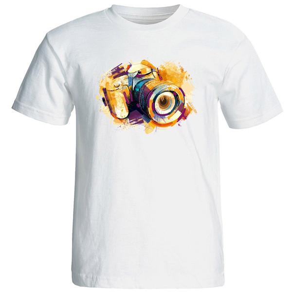 تی شرت استین کوتاه زنانه الی شاپ طرح 12572