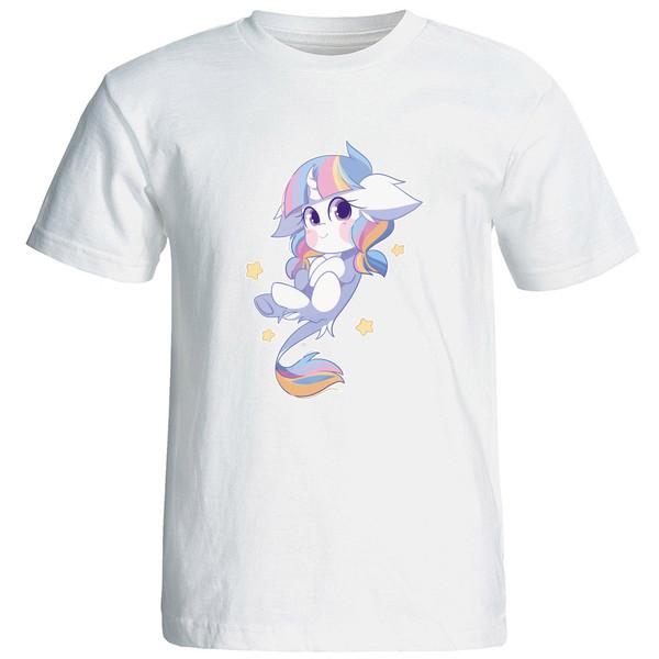 تی شرت استین کوتاه زنانه الی شاپ طرح 12587