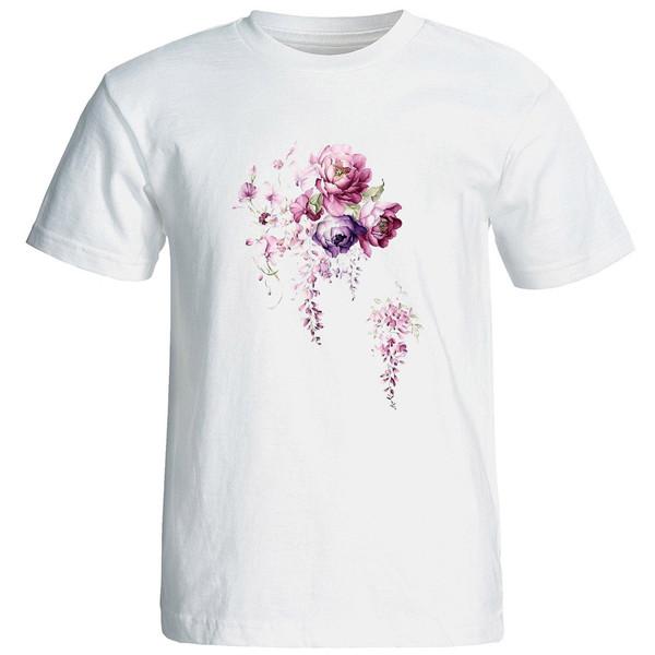 تی شرت استین کوتاه زنانه الی شاپ طرح 12577