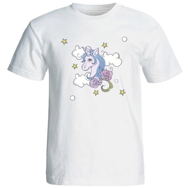 تی شرت استین کوتاه زنانه الی شاپ طرح 12578
