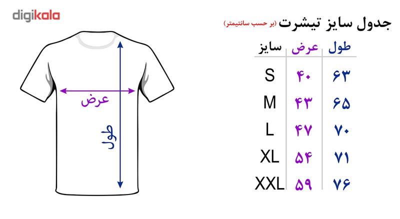 تی شرت مردانه رادیکال طرح قهوه کد 3141