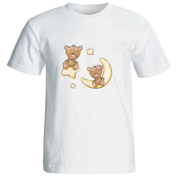 تی شرت آستین کوتاه زنانه الی شاپ طرح 12549