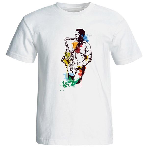 تی شرت استین کوتاه مردانه الی شاپ طرح 12583