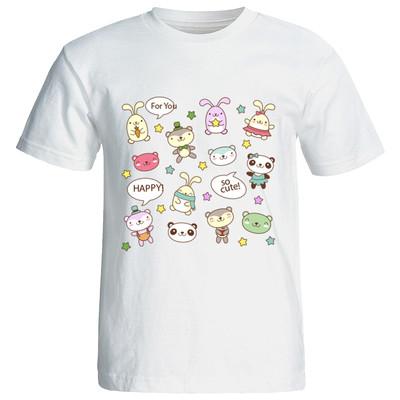 تی شرت زنانه طرح فانتزی 12064