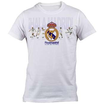 تیشرت استین کوتاه مردانه طرح رئال مادرید مدل B 5271