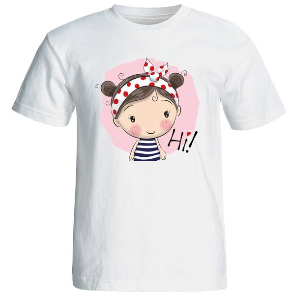 تی شرت استین کوتاه زنانه الی شاپ طرح 12571