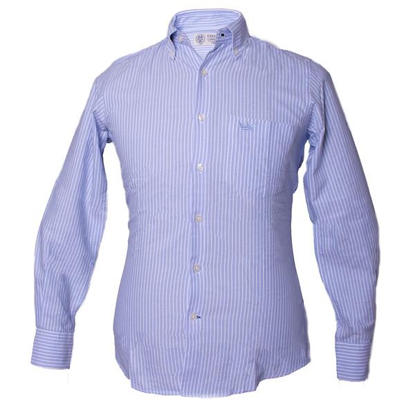 پيراهن مردانه آكسفورد يونيورسيتي مدل Oxford Light Blue