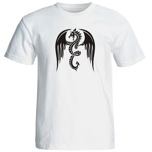 تی شرت استین کوتاه مردانه الی شاپ طرح 12601