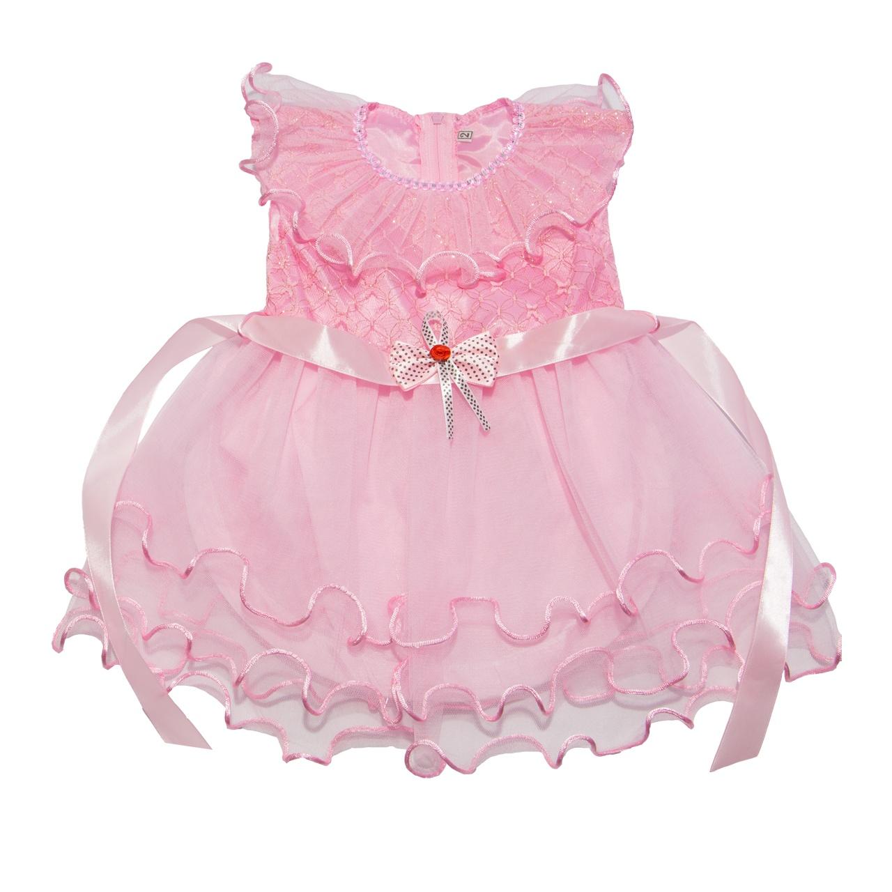 لباس مجلسی دخترانه مهبان طرح عروس-02