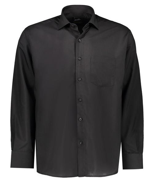 پیراهن مشکی مردانه گرند مدل جعبه ای