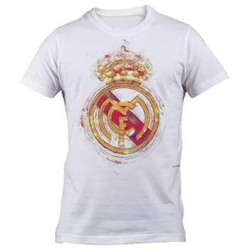 تی شرت مردانه طرح رئال مادرید مدل B 6052
