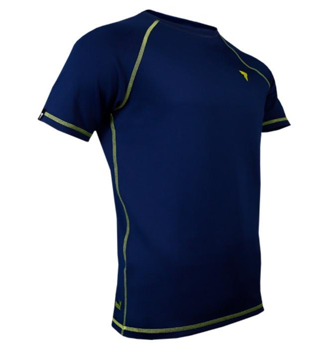 تی شرت ورزشی مردانه ترک ویر مدل Rash 014 Navy
